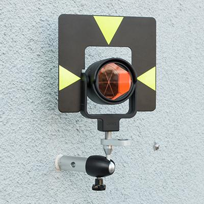 wall bolt monitoring prism